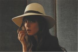 Kate-feutre ecru-Maison Michel-AH 2008