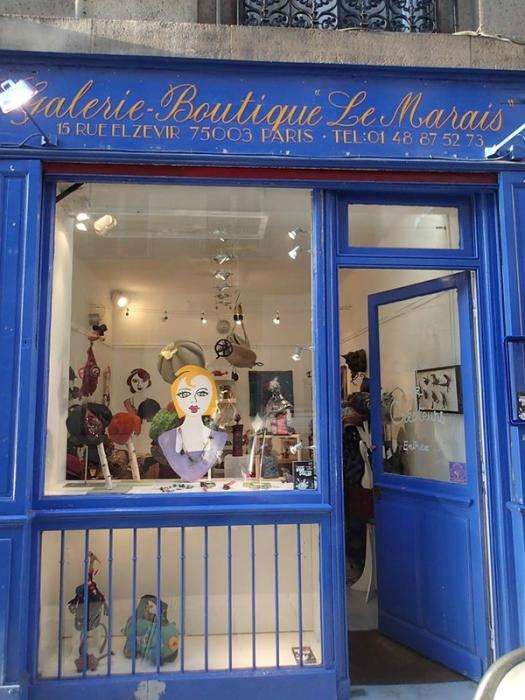 Galerie-boutique Le Marais