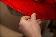 préparation du bordé en para sisal