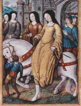 Miniature représentant Yolande D'Aragon