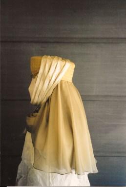 coiffe en profil de Christine de Pisan