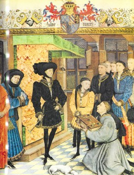 Cour de Philippe de bourgogne